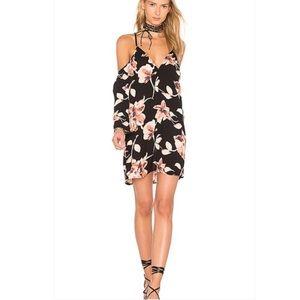 Stillwater Floral Cold Shoulder Tunic Dress